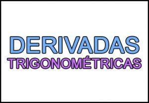 derivadas trigonometricas